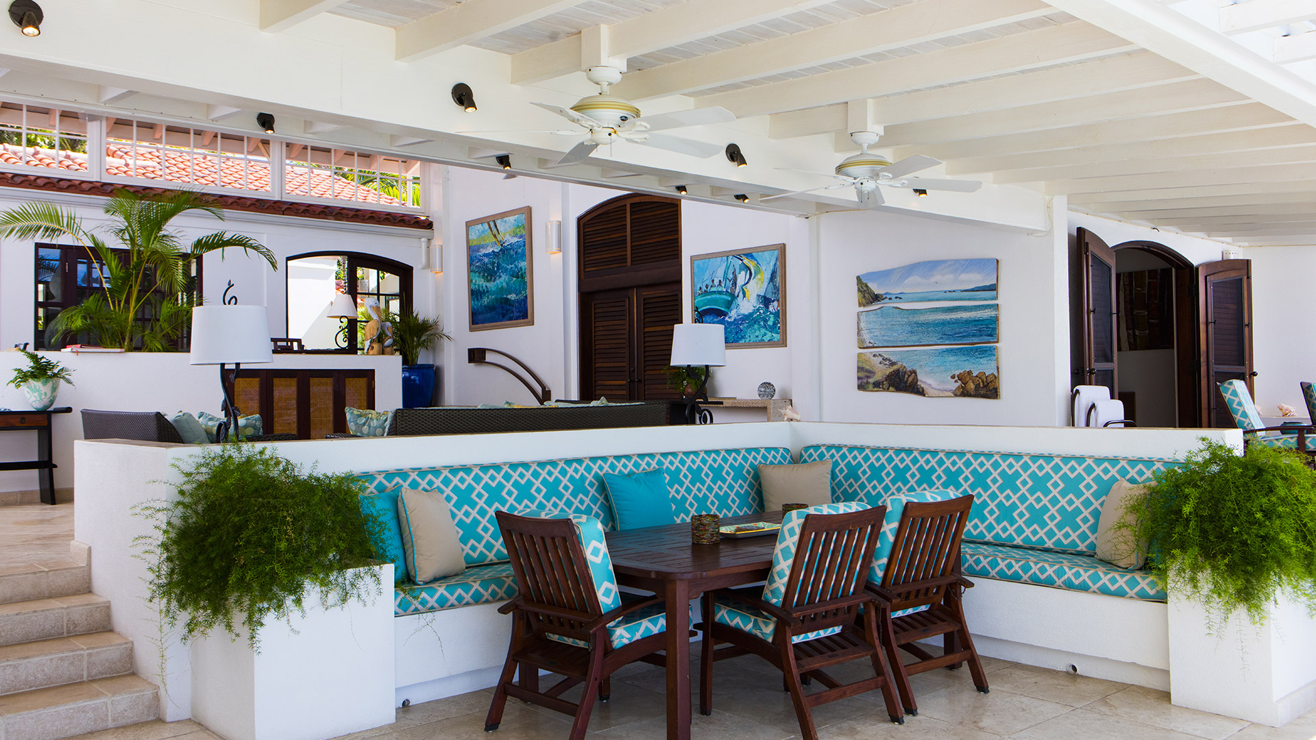 Sea Horse - 3 Bedroom Private Villa | Jumby Bay Island Antigua