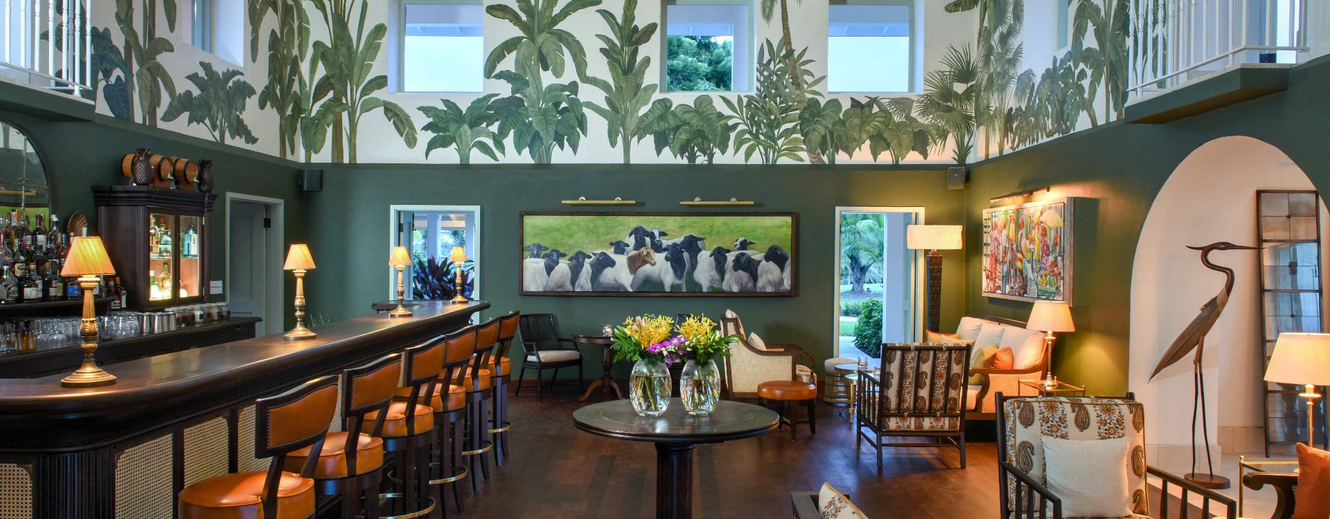 1830 Bar Antigua Jumby Bay Island Luxury Resort