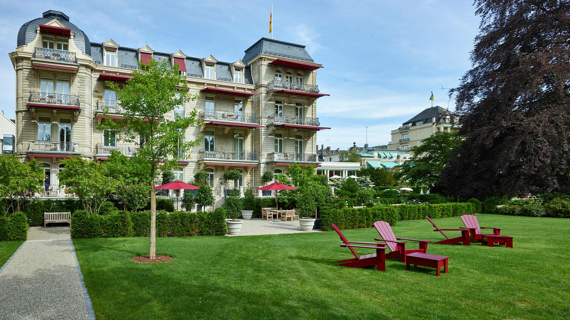 Villa stephanie spa medical care in baden baden for Villas steffany